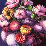"Mary's Bouquet 24""x30"" (oil on canvas)"