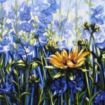 "Between the Belles 20"" x 24"" (oil on canvas) Sold"