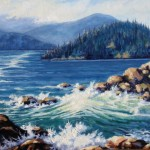 "Howe Sound 20"" x 24"" (oil on canvas)"