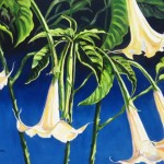"Trumpets 20"" x 24"" (oil on canvas) Sold"
