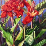 """On Fire 30"""" x 24"""" (oil on canvas) Sold"""