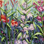 "Summer Patterns ""20 X 24"" (oil on canvas) Sold"