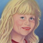 "Lyla 12""x12"" (oil on canvas) Sold"