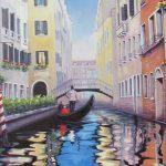 """Vibrant Venezia 24"""" x 30"""""""