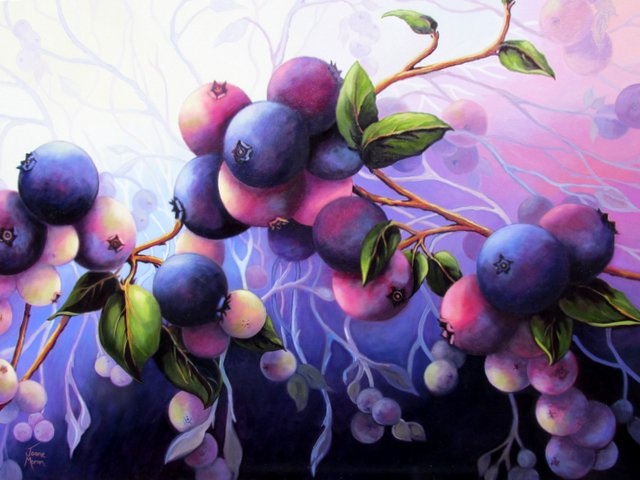 """Wild Blueberries 9"""