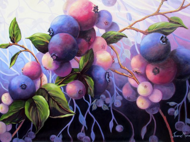 """Wild Blueberries 8"""